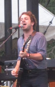 Taylor Goldsmith at Lollapoolza in 2012.