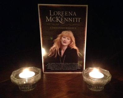 "Loreena McKennitt's ""A Trio Performance"" program"
