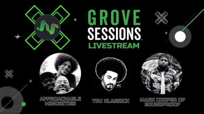 Grove Studios April 24 Livestream